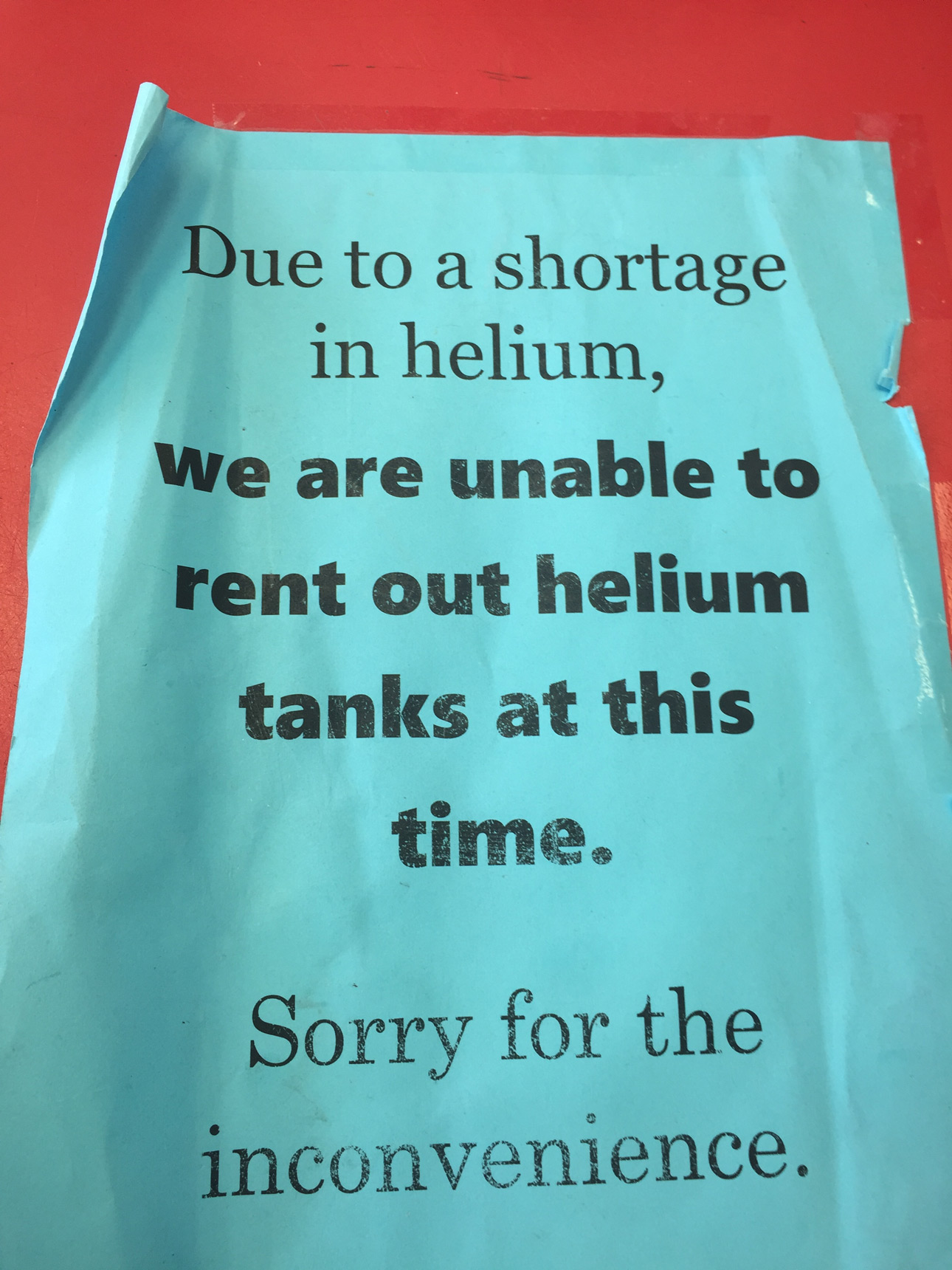 Northeast Florida Businesses Feel Pinch Of Helium Shortage